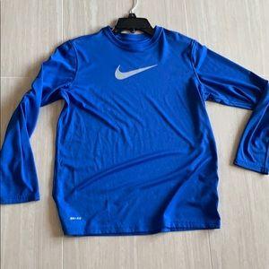 Boys Nike Long Sleeve Drifit